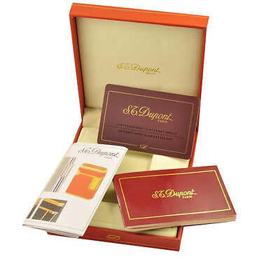 L2 Cigarette Lighter Gift Box for Memorial Dup0nt with Instruction Red