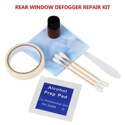 Car Auto Visbella Rear Window Defogger Repair Kit Tool Fix Broken Grid Lines Set