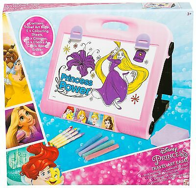 Disney Princess Travel Art Easel Girls Kids Childrens Holiday Drawing Gift