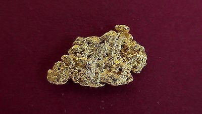 Australian Natural GOLD Nugget .45g
