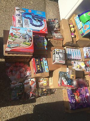 wholesale joblot parcel of mixed branded toys damaged packaging