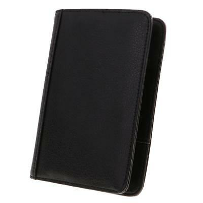 1Pc RFID Passport Protector Holder Case Travel Accs Money Wallet Purse Black