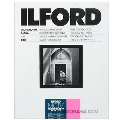 Ilford IV RC Deluxe Resin B/W Paper 8x10in, 250, Glossy #1770395