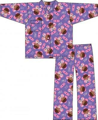 Girls Doc Mcstuffins Wincyette Night suit Pyjamas Night wear 12months to 4years