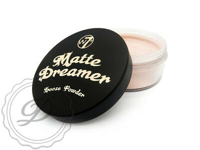 W7 Matte Dreamer Loose Powder - Foundation Face Soft Contouring Setting Makeup