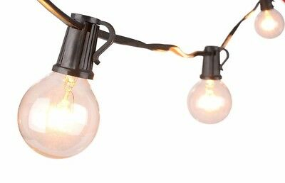 Catena Luminosa LED Catenaria Esterno IP65 E27 Metri a Scelta con Lampadine LED