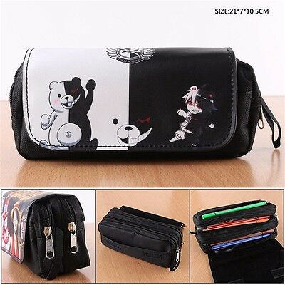 Dangan Ronpa danganronpa Monokuma Pencil Case Stationery Cosmetic Bag Mäppchen