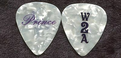 PRINCE 2011 Welcome 2 America Tour Guitar Pick!!! His custom concert stage #1
