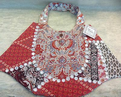 NWT Jak & Peppar Girls/Tween BOHO Style Large Bag **BACK TO SCHOOL**