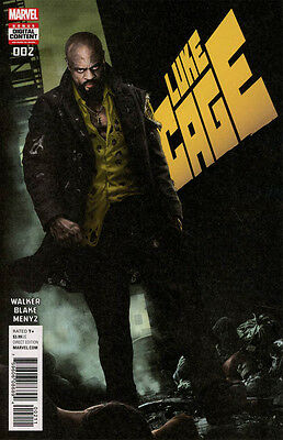 Luke Cage #2 (2017) 1St Print (Marvel Comics) Boarded. Free Uk P+P! New
