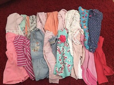 Baby Girls 9-12 Months Job Lot Branded Clothes Bundle Inc Next, Joules