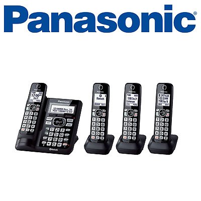 Panasonic KX-TGF574S DECT 6.0 4 Handset Cordless Phone Bluetooth