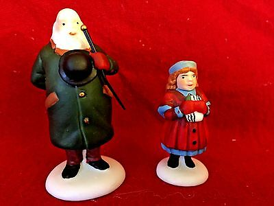 Dept 56 Heritage Village Collection Yes, Virginia... (set of 2) 58890 Retired