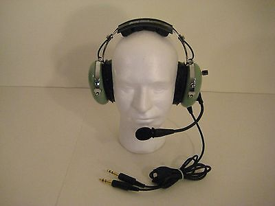 David Clark Remanufactured General Aviation Headset H10-20 with Volume Control