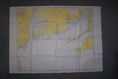 1963 Martha's Vineyard to Block Island Nautical Chart