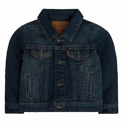 Baby Levis Jeans Jacket Denim Knit Trucker New Blue Waverly
