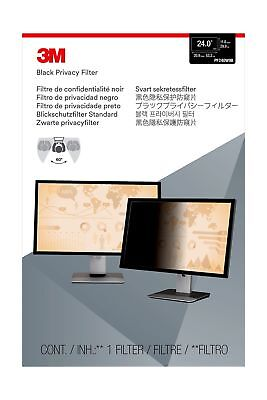 3M Privacy Filter for Widescreen LCD Monitors 24 Inch (PF24.0W) 24 inches 0W9