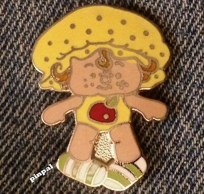 Vintage 1980 Angle Cake Brooch Pin~A.G.C.~from Strawberry Shortcake Set