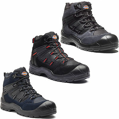 Dickies Everyday Safety Boots Steel Toe Cap Mens Anti Scuff Toe Heel UK6-14