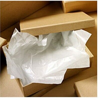 WHITE LUXURIOUS ACID FREE TISSUE PAPER - 50cm x 75cm FOR WEDDING DRESS STORAGE