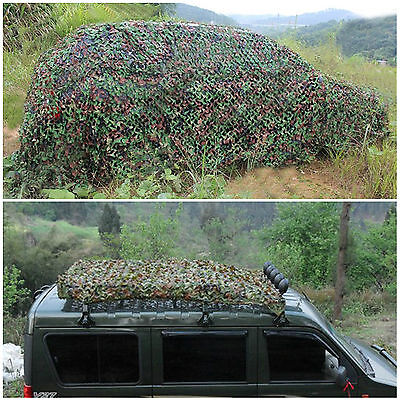 Jungle Filet de Forêt hide militaire Camouflage net 3.5mx2.75m Chasse Camping