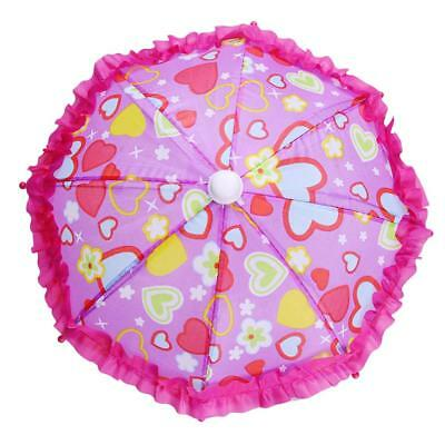 Lovely Umbrella Accessories for 18'' American Girl Our Generation Doll TypeB