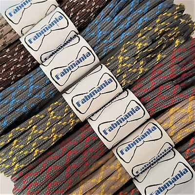 Small Round Walking Trainer Shoe Laces - North Face, Merrell, Karrimor, Salomon