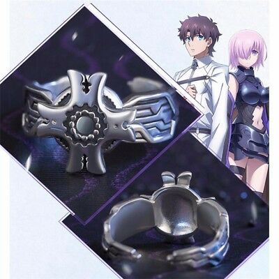 Anime Fate Grand Order Shielder Ring 925 Silver Pendant Cosplay Anhänger Rings