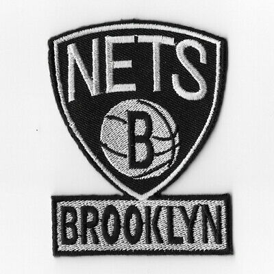 NBA Brooklyn Nets Iron on Patches Embroidered Patch Badge Emblem Applique Sew
