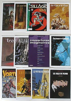 11 Ex Libris Couvertures Imaginaires Delcourt Aquablue Sillage Nef Des Fous 1998