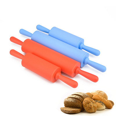 1pcs Small Size Silicone Dough Rolling Pin Roller Baking Kitchen Pastry Tools