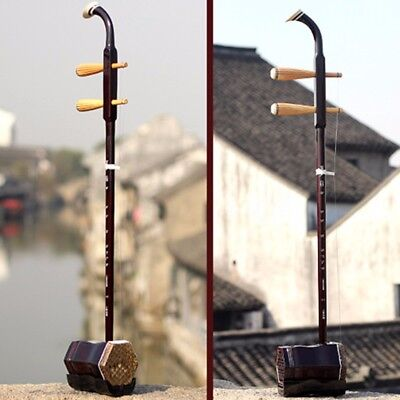 Wuyue Erhu Chinese Traditional Musical Instrument Violin 2 String Erhu Fiddle