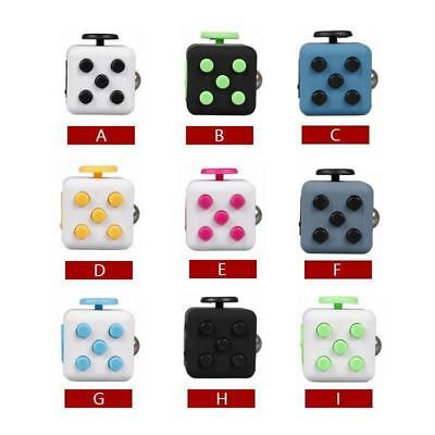 Magic Figet Cube Adult/Kids Toy Anti-anxiety stress-relief Multi colors stuff