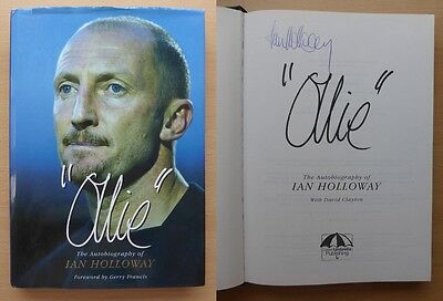 Ian Holloway Signed Autobiography Ollie Blackpool, Bristol Rovers & QPR (11304)