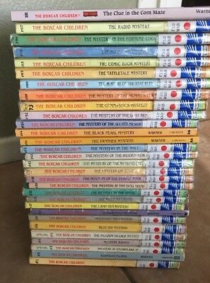The Boxcar Children Lot Of 30 Paperback Books By Gertrude Chandler Warner