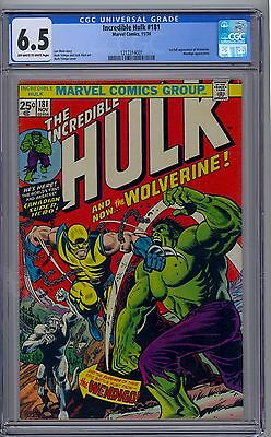 Incredible Hulk 181 CGC 6.5 1st Full Appearance Wolverine