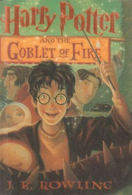 Harry Potter And The Goblet Of Fire(Hardback Book)J.K.Rowling-2000-Good
