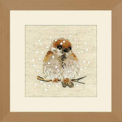 """Counted Cross Stitch Kit RIOLIS 1680 - """"Sparrow"""""""