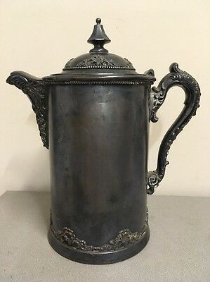 Derby Silver Company Porcelain Lined Water Pitcher