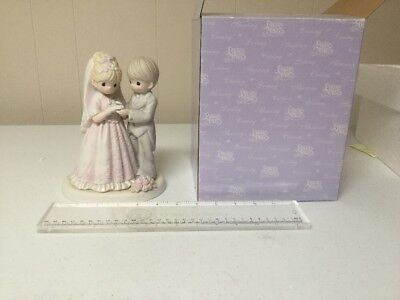 Precious Moments 2005 From This Day Forward Bride Groom In Box 550027