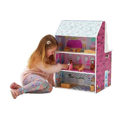 Chad Valley 2-in-1 Wooden Dolls House and Kitchen Playset. From Argos on ebay