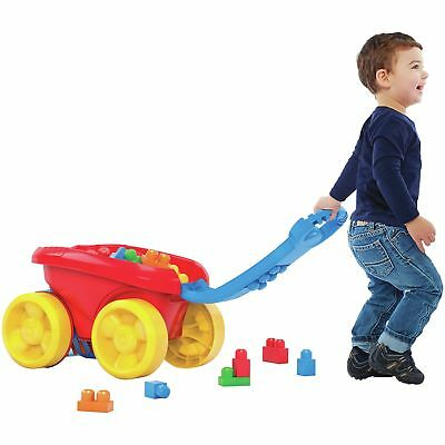 Megabloks First Builders Block Scooping Wagon -From the Argos Shop on ebay