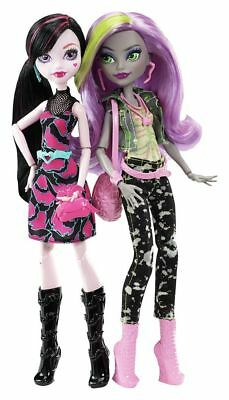 Monster High Dance the Fright Away Two Doll Set - From the Argos Shop on ebay