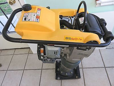 Wacker Neuson BS60-4 Rammer, 11'' Shoe, Honda engine, Jumping Jack Packer