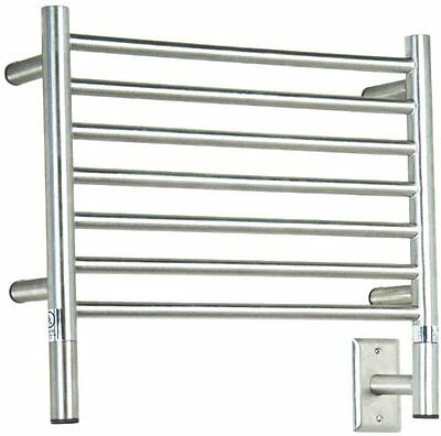 Amba Jeeves HSP-20 20-1/2-Inch X 18-Inch Straight Towel Warmer - Polished Silver