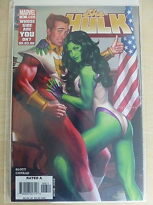 "She Hulk Issue 6 ""First Print"" - 2006 Dan Slott"