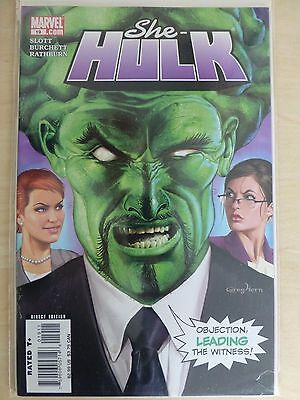 "She Hulk Issue 19 ""First Print"" - 2007 Dan Slott"