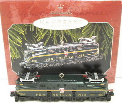 Hallmark QX6346 Lionel 2332 Pennsylvania GG-1 Locomotive Christmas Ornament