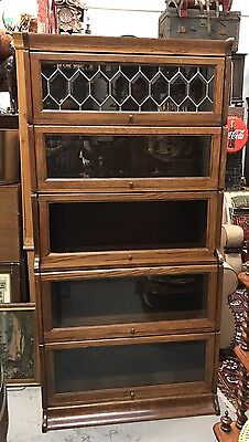 Superb Quality Oak Barristers Bookcase. Offers?
