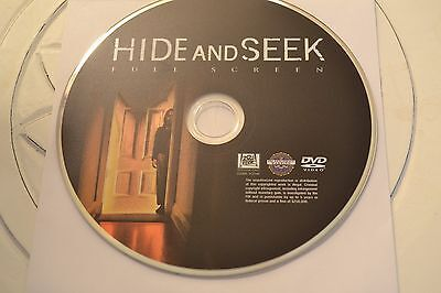 Hide and Seek (DVD, 2006, Full Frame)Disc Only Free Shipping 13-100